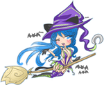 Halloween with Witch Ally