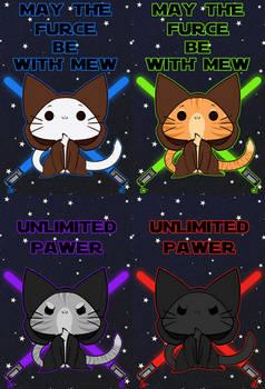 Small Print Design (Star Wars Cats)