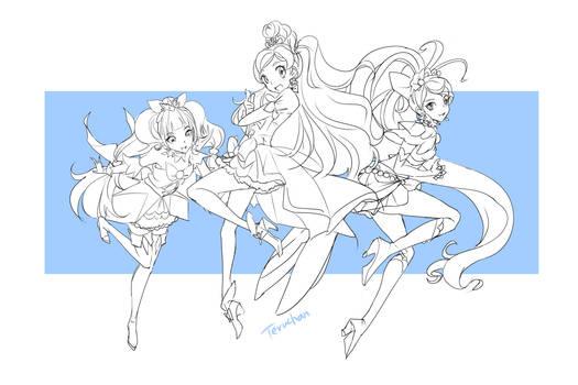 GO PrincessPrettycure wip