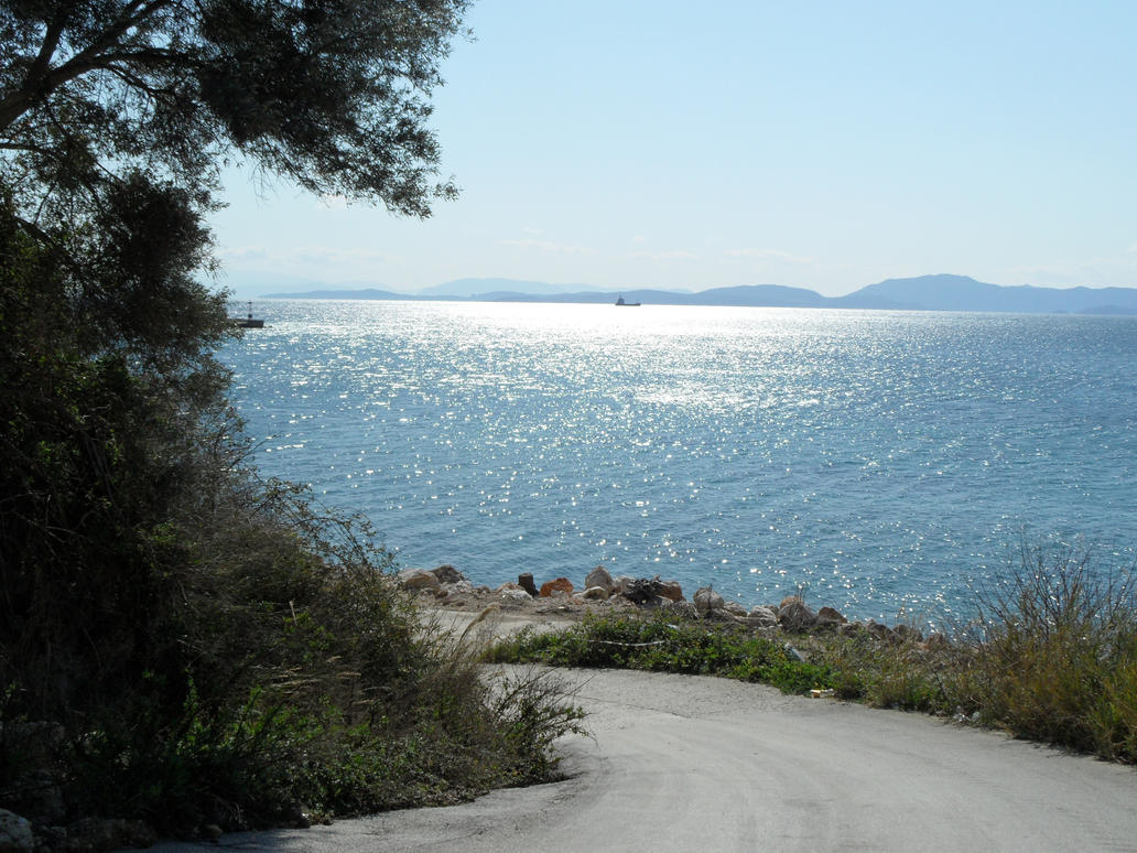 walking by the coastline by Paul774