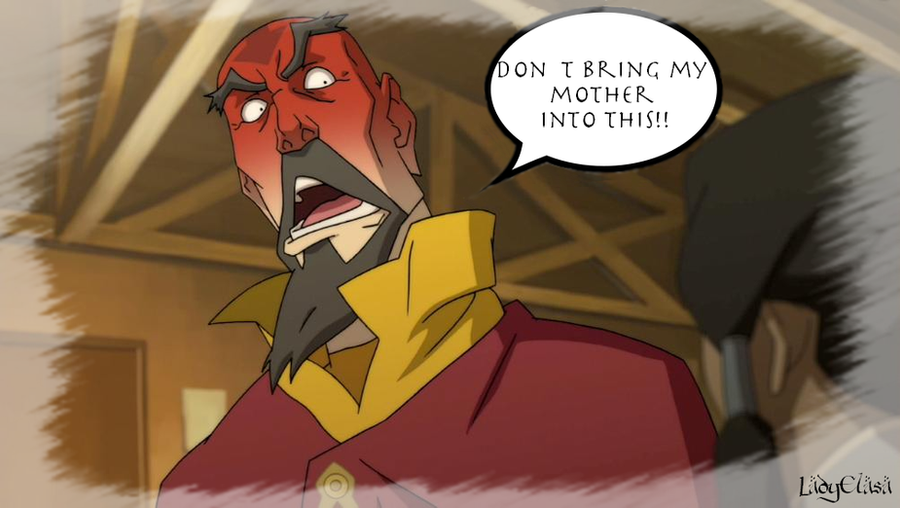 Tenzin - Don't Bring My Mother into This! by LadyElasa
