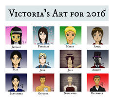 Victoria's Art for 2016