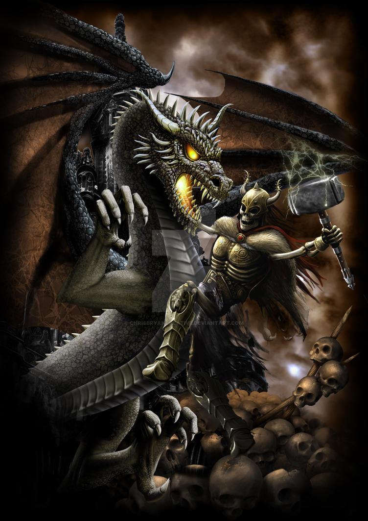 dragon slayer 2 by chrisbryancreative on deviantart. Black Bedroom Furniture Sets. Home Design Ideas