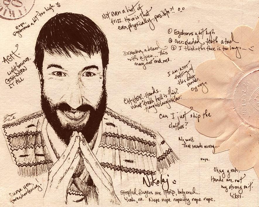Nikolaj Sketch by Relient-K