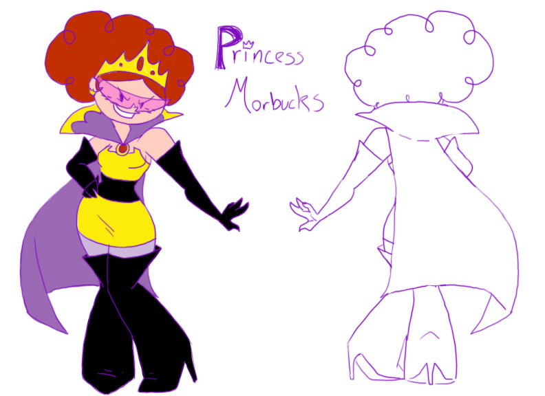 Princess Morbucks Villainess By Kirkerr On DeviantArt