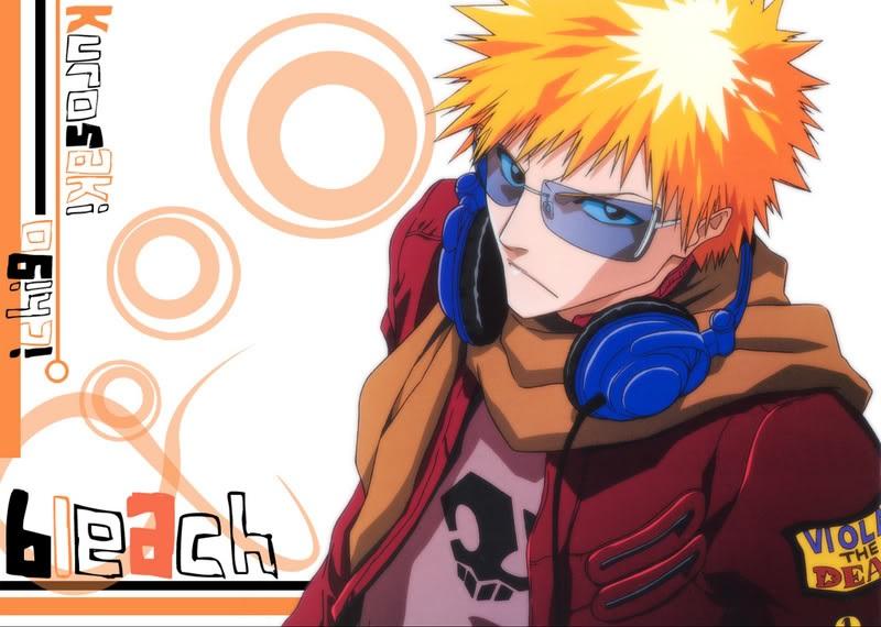 Ichigo Bleach Anime wallpaper 21024x768