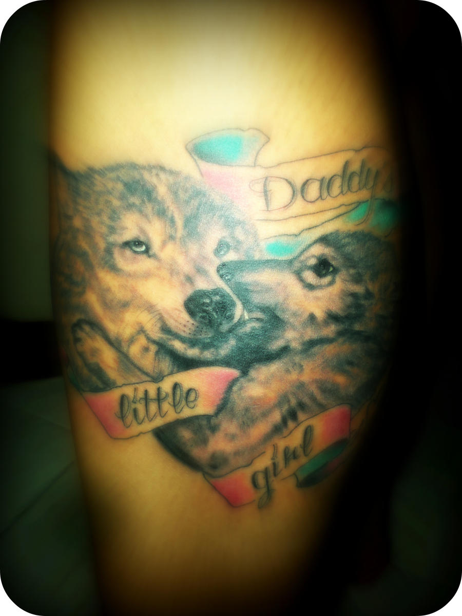 Daddy 39 s little girl tattoo by burningflowerphoenix on for Daddys little girl tattoos