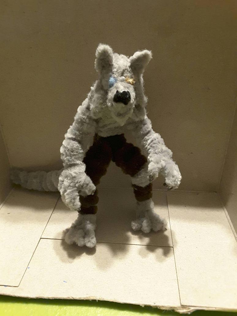 Gray Wolf by JimbieXD