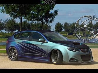Subaru Impreza STI by DemoDesign
