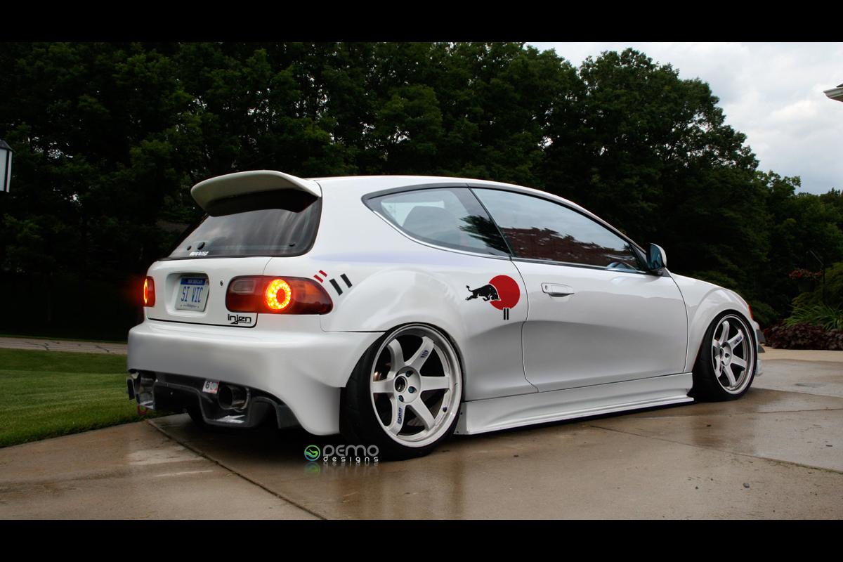 Honda Civic EG by DemoDesign on DeviantArt