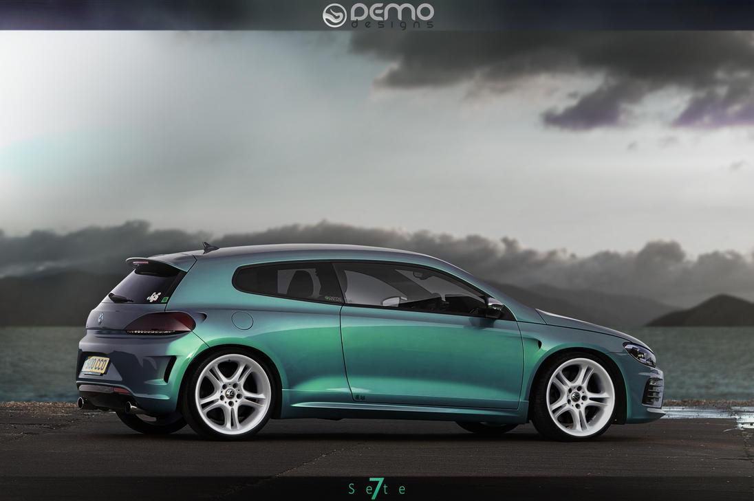Volkswagen Scirocco R Se7te by DemoDesign