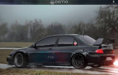 Mitsubishi Lancer Evolution 8y by DemoDesign