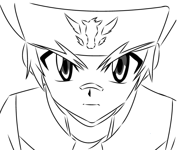 ginga beyblade coloring pages - photo#26