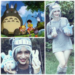 Casual Totoro Cosplay by pocketsizedobserver
