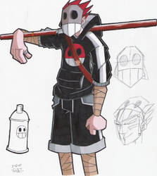 graff ninja ver 3 by OrochiGhOsT