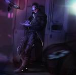 Northan the Rigger: Shadowrun character