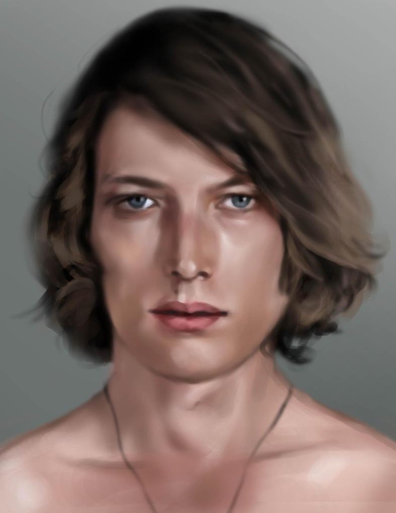 Portrait Study by simplyyellow
