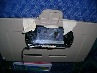 Easy PSP Watching on a Plane