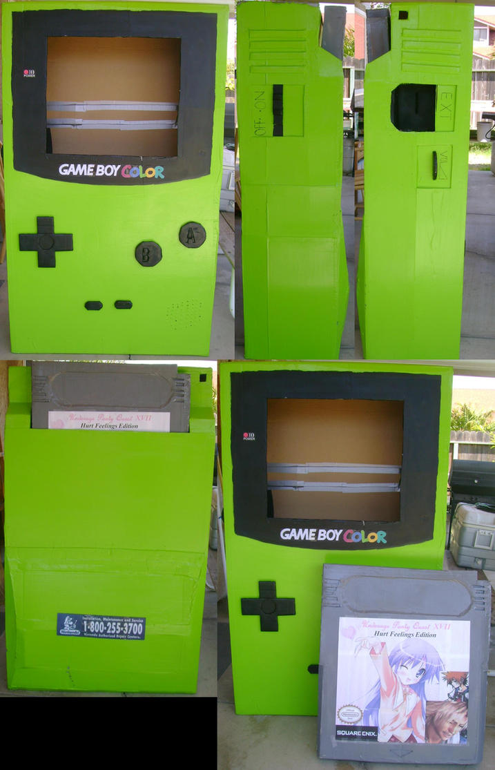 Really Large Gameboy Color by Chichok on DeviantArt