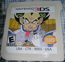 Over 9000: The 3DS Video Game by Chichok