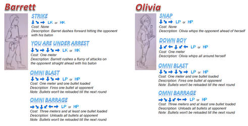 Outlaw Brawl Moveset Beta by Chichok