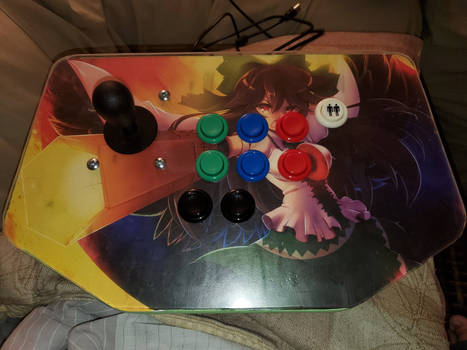 Touhou Arcade Stick Utsuho 2nd Player-2nd revision