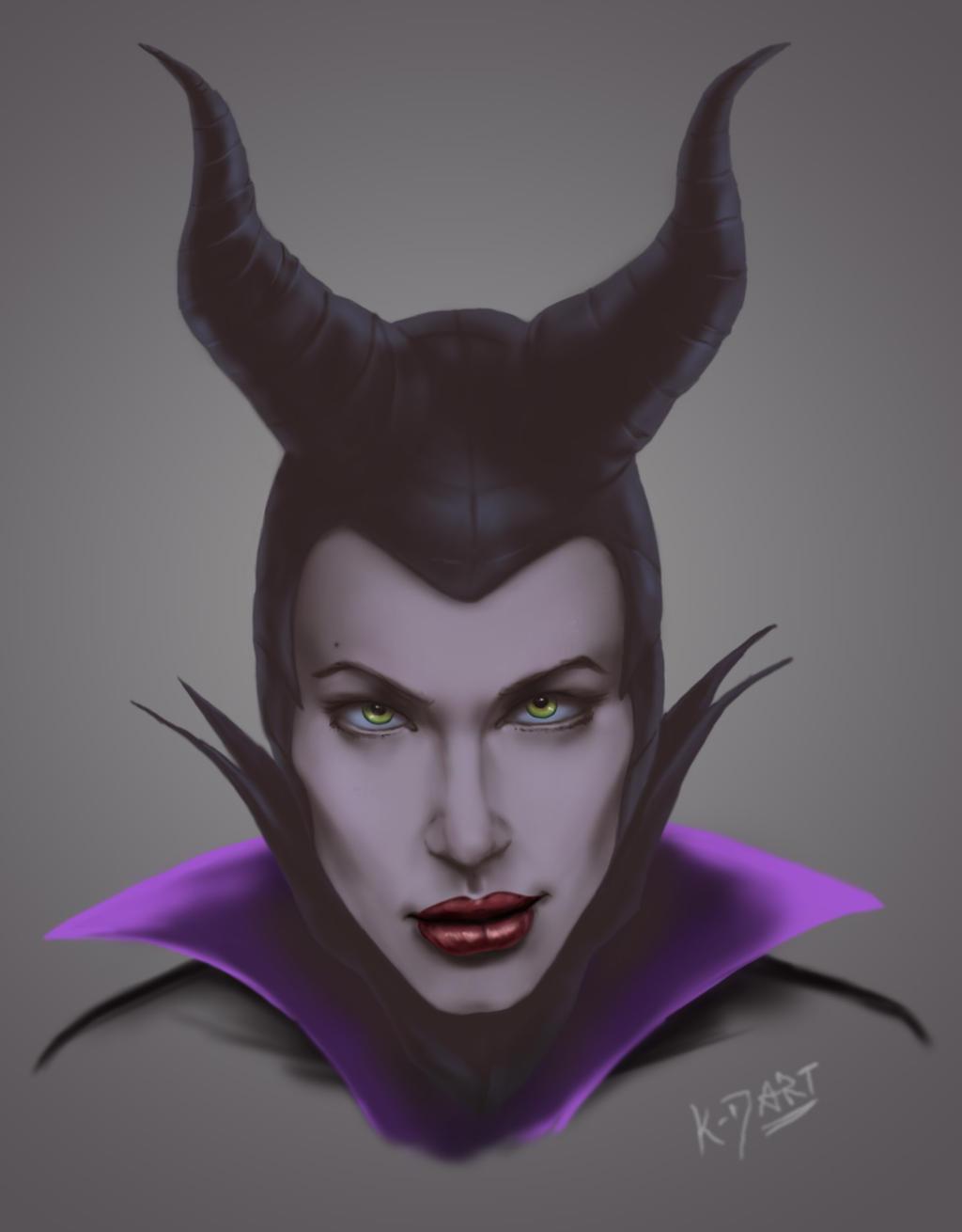 Maleficent Sketch by k-d-art on DeviantArt
