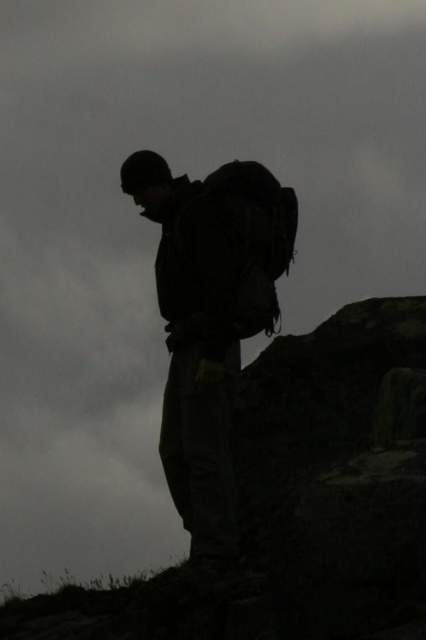 Dark on the peak by sprad