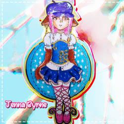 Jenna the wolf idol by friedenett