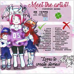 MEET THE ARTIST by friedenett