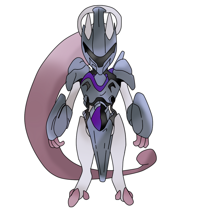 Mewtwo New Form Armored (Original) by FriezaMangas on DeviantArt