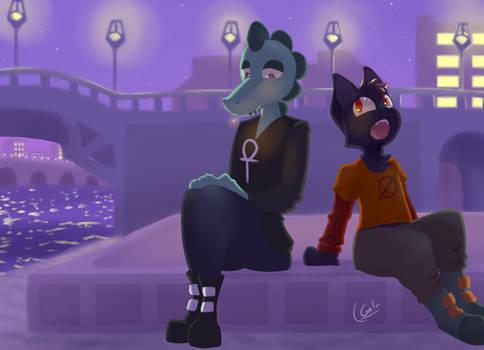Mae and Bea