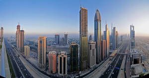 Sheikh Zayed Road Panorama