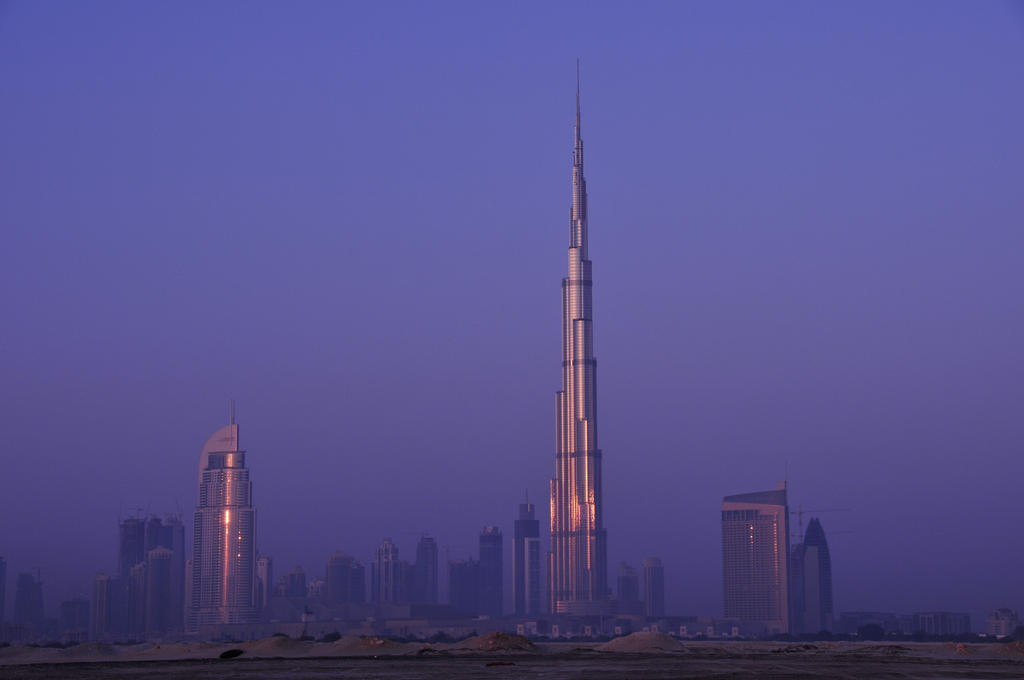 Burj Khalifa at Sunrise by VerticalDubai