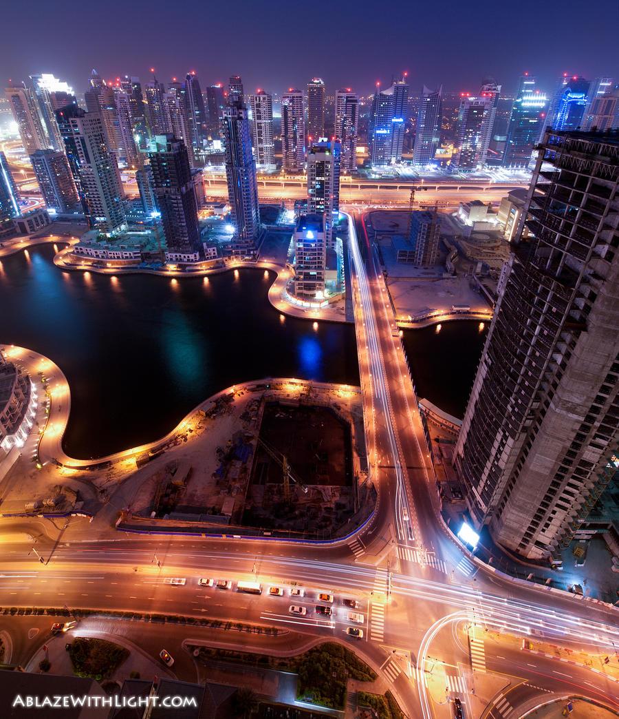 D Exhibition Jbr : Dubai panoramas night pics and general photos page