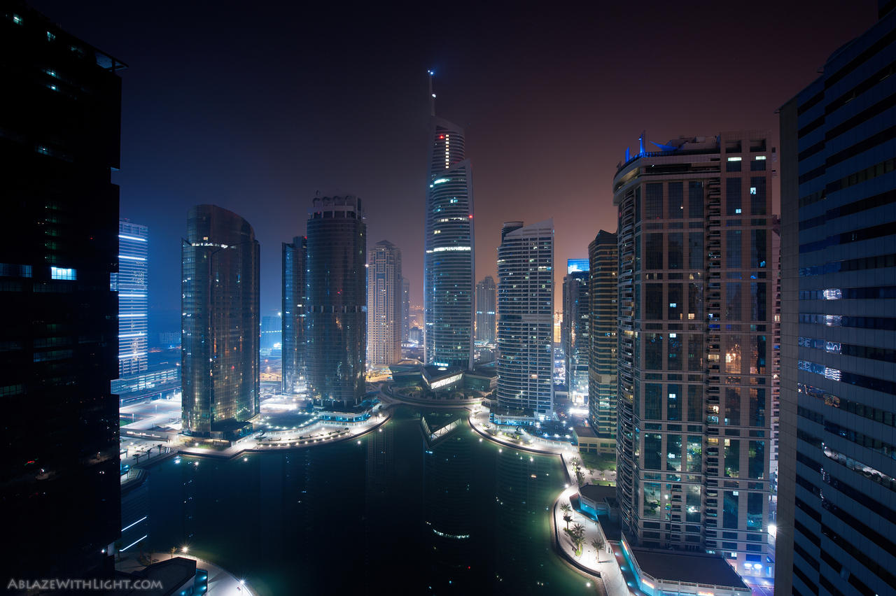 Hazy Night by VerticalDubai