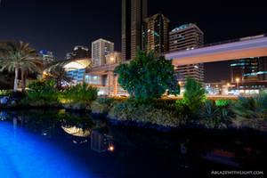 Emirates Towers Metro Station by VerticalDubai