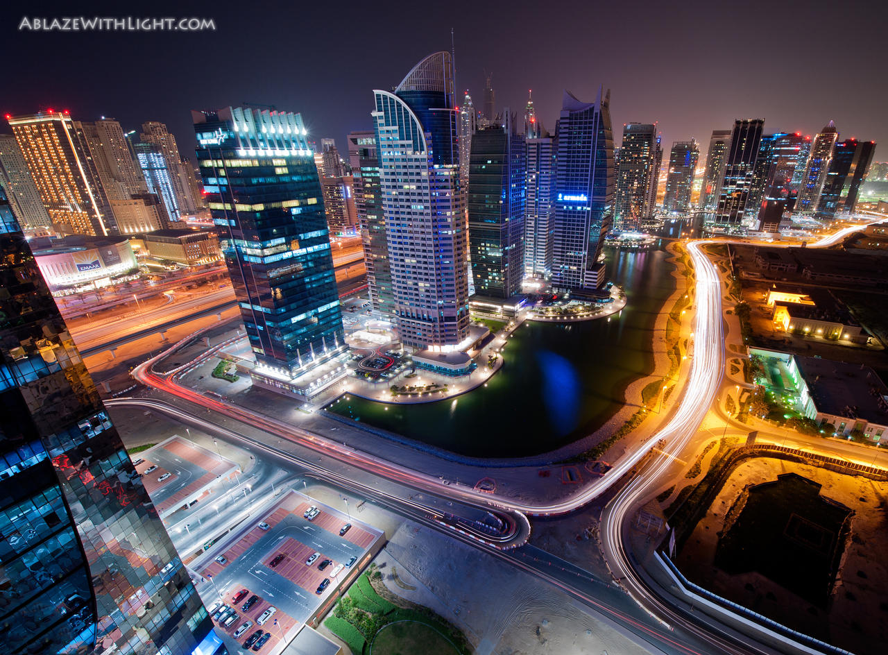Dubai Arch View by VerticalDubai