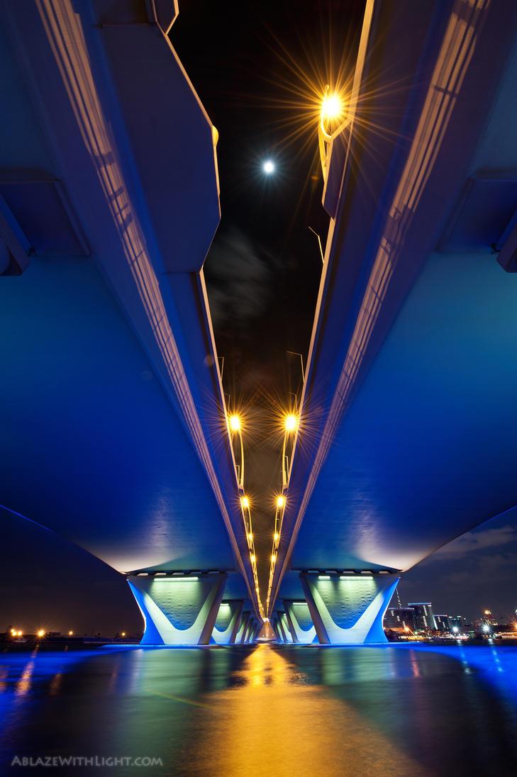 Garhoud Bridge by VerticalDubai