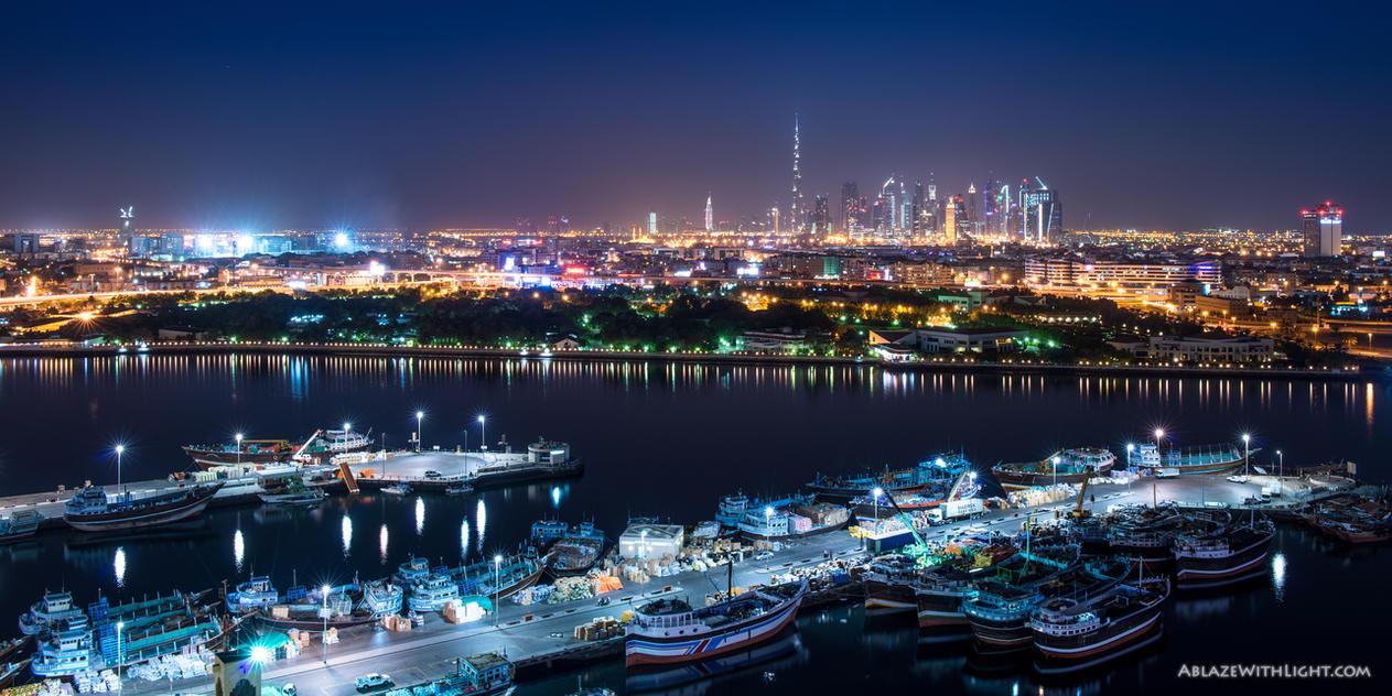 Dhow Wharfage by VerticalDubai