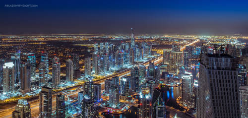 Electric Jewels by VerticalDubai