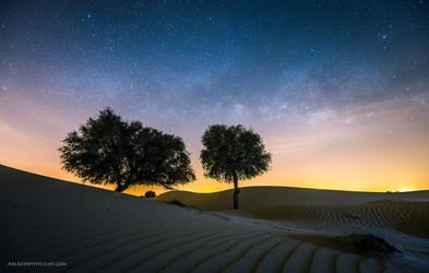 Desert Wonderland by VerticalDubai