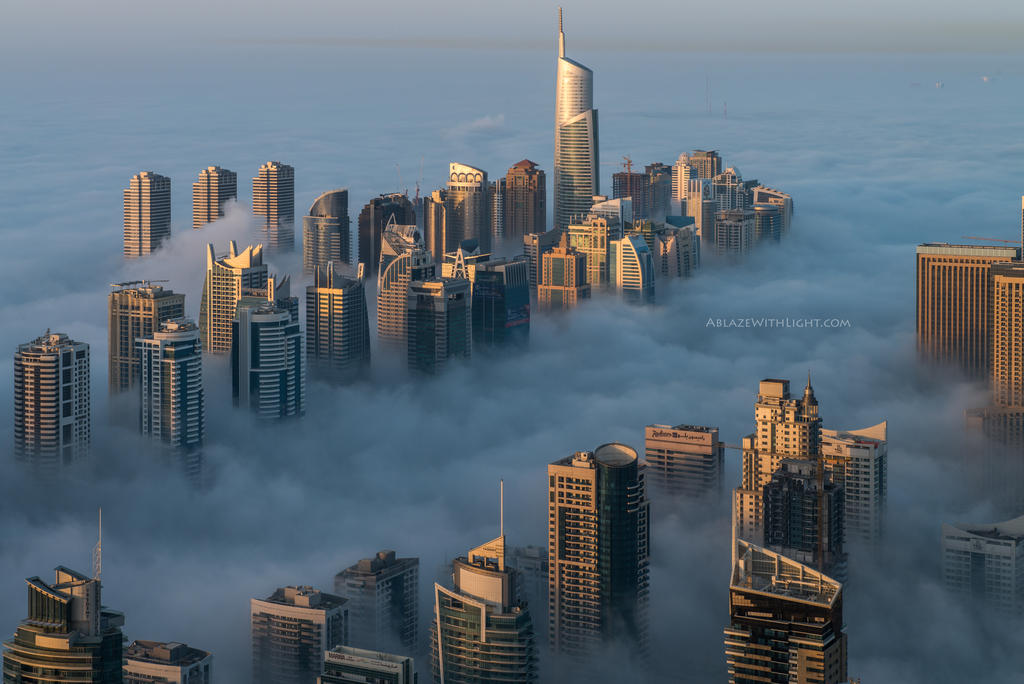 Skimmed Skyline by VerticalDubai