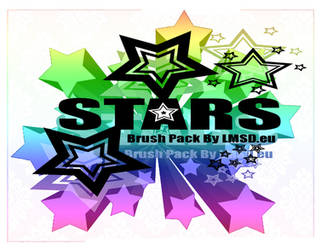 Star vector Photoshop Brushes by Mephotos