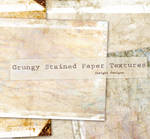 Heavy grunge stained textures