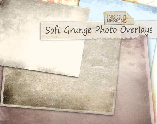 Soft Grunge Overlay Textures