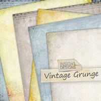 Vintage Grunge Texture Overlay by Mephotos