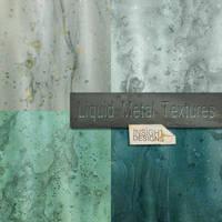 Liquid metal textures by Mephotos