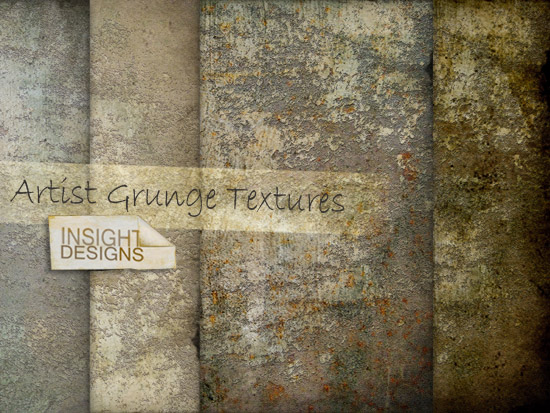 Artist Grunge Texture Overlays