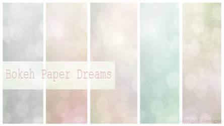 Free Texture Bokeh Paper Dream